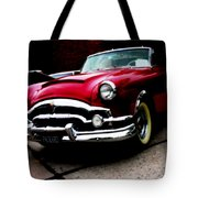 53 Packard Caribbean Convertible Coupe Tote Bag