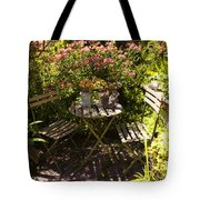 542 Cf Peaceful Garden Tote Bag