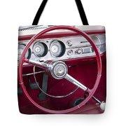 55 Chevy Ss Dash Tote Bag