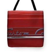 56 Ford F100 Custom Cab Tote Bag