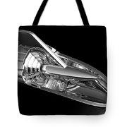 '57 Chevy Hood Chrome Tote Bag