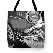57 Chevy  Tote Bag by Steve McKinzie