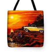 57 Merc Sunset Tote Bag