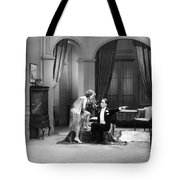 Silent Still: Man & Woman Tote Bag