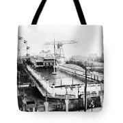 Steeplechase Pool Tote Bag