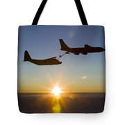 A Mc-130h Combat Talon II Tote Bag