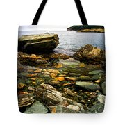 Atlantic Coast In Newfoundland Tote Bag