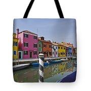 Burano - Venice - Italy Tote Bag