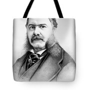 Chester Alan Arthur Tote Bag