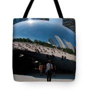 Chicago City Scenes Tote Bag