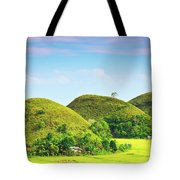 Chocolate Hills Tote Bag