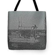 Fishing Boats Art Tote Bag