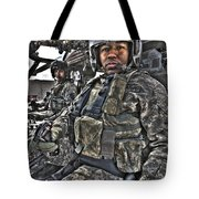 Hdr Image Of A Pilot Sitting Tote Bag