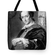Horace Walpole (1717-1797) Tote Bag