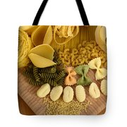 Pasta Tote Bag by Photo Researchers, Inc.