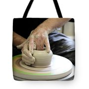 Pottery Wheel, Sequence Tote Bag