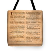 Presidential Campaign, 1928 Tote Bag