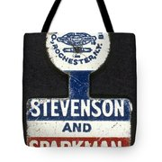 Presidential Campaign, 1952 Tote Bag