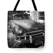 Route 66 Classic Car Tote Bag