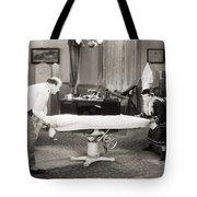 Silent Film Still: Doctor Tote Bag