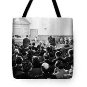 Silent Still: Courtroom Tote Bag