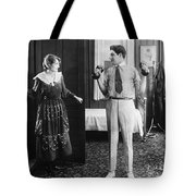 Silent Still: Exercise Tote Bag
