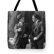 Silent Still: Two Men Tote Bag