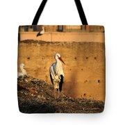 Storks In Marrakech Tote Bag