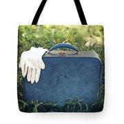 Suitcase Tote Bag