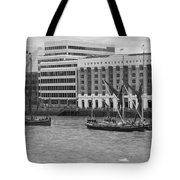 Thames Barges Tower Bridge 2012 Tote Bag