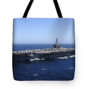 The Nimitz-class Aircraft Carrier Uss Tote Bag