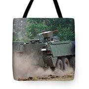 The Piranha IIic Of The Belgian Army Tote Bag