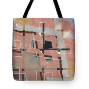 Urban Abstract San Diego Tote Bag