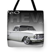60 Chevy El Camino Tote Bag by Mike McGlothlen