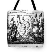 Spanish Armada, 1588 Tote Bag