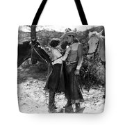 Silent Film Still: Couples Tote Bag