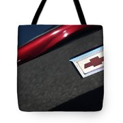 67 Black Camaro Ss Bow Tie Tote Bag