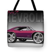 67 Chevrolet Impala Tote Bag