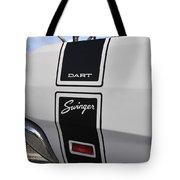 69 Dart Swinger Tote Bag