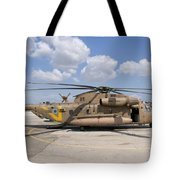 A Sikorsky Ch-53 Yasur Of The Israeli Tote Bag