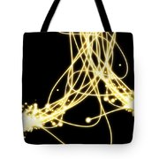 Abstract Lighting Effect  Tote Bag