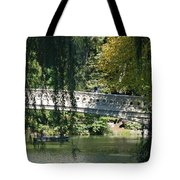 Bow Bridge Tote Bag