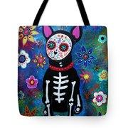 Chihuahua Dia De Los Muertos Tote Bag