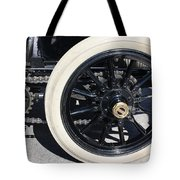 Classic Antique Car- Detail Tote Bag