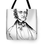 Edgar Allan Poe (1809-1849) Tote Bag
