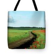 Field Of Poppies. Tote Bag