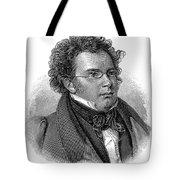 Franz Schubert (1797-1828) Tote Bag