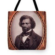 Frederick Douglass African-american Tote Bag by Photo Researchers