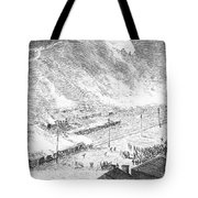 Great Railroad Strike, 1877 Tote Bag