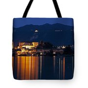 Island Of San Giulio Tote Bag by Joana Kruse